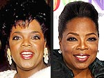 Oprah Winfrey's Changing Looks