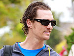 Matthew McConaughey Takes a Casual Stroll in Santa Monica | Matthew McConaughey