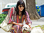 Selma Blair Plays with a Pooch | Selma Blair
