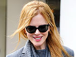 Nicole Kidman Shops for Her Kids Down Under