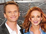 Neil Patrick Harris and Jayma Mays Reveal Their 'Smurf' Names | Jayma Mays, Neil Patrick Harris