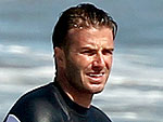 David Beckham Takes His Boys Surfing | David Beckham