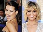 Lea Michele and Dianna Agron&#39;s Glee-ful Arrival! | Dianna Agron