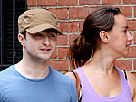 Daniel Radcliffe Strolls with His Gal | Daniel Radcliffe