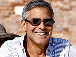 George Clooney Relaxes Before His Big Italian Premiere | George Clooney