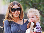 Off-Duty Hollywood: Sarah Jessica Parker Takes Her Twins Out for the Day