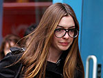 Off-Duty Hollywood: Anne Hathaway Takes a Brisk Soho Stroll | Anne Hathaway