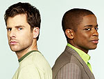 James Roday and Dulé Hill Get 'Psyched' for Halloween | Dule Hill, James Roday