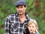 Off-Duty Hollywood: Stephen Moyer and Daughter Lilac Hit an Obstacle Course | Stephen Moyer