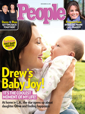  photo | Babies, Drew Barrymore Cover, Danny DeVito, Drew Barrymore, Kate Middleton, Rhea Perlman, Will Kopelman