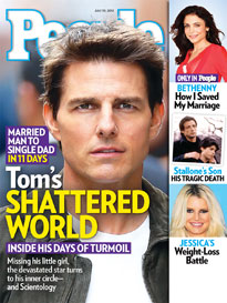 Tom Cruise & Katie Holmes: Tom's Private Struggle