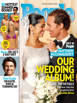 photo | Wedding, Matthew McConaughey Cover, Celebrity Weddings, Hottest Bodies, Camila Alves, Halle Berry, Kate Hudson, Matthew McConaughey, Stacy Keibler, Tom Cruise