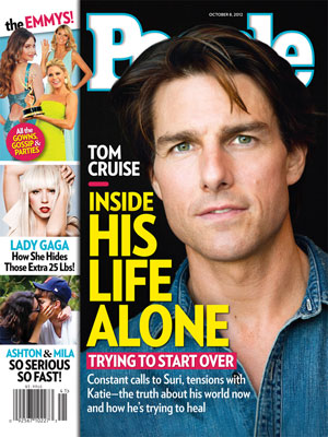  photo | Emmys on Covers, Tom Cruise Cover, Ashton Kutcher, Heidi Klum, Julie Bowen, Lady Gaga, Mila Kunis, Sofia Vergara, Tom Cruise