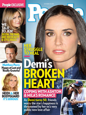  photo | Demi Moore Cover, Demi Moore, Heidi Klum, Jennifer Aniston, Matthew Perry