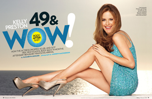 Kelly Preston: 49 & Wow! Body After Baby