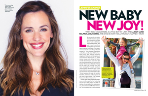 Jennifer Garner: New Baby New Joy!