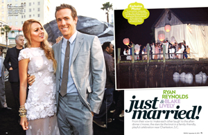 Ryan Reynolds & Blake Lively: Just Married!