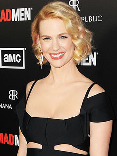 New Mom January Jones: Returning to Mad Men Was Tough | January Jones