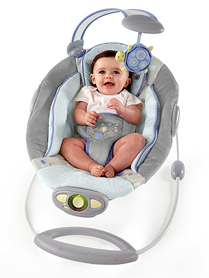 Giveaway An Ingenuity Baby Bouncer A 50 Value Moms