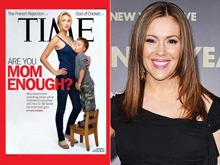 celebs weigh in on times breastfeeding cover - Milano Cover