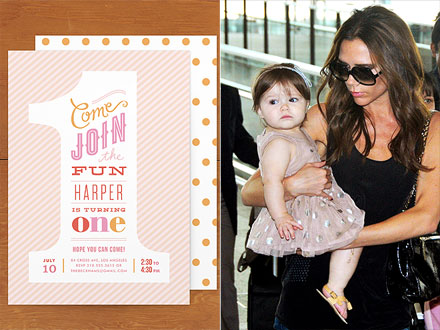 Celeb Inspired Kiddie Birthday Party Invitations People Com