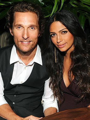 Matthew McConaughey and Camila Met in a West Hollywood Bar