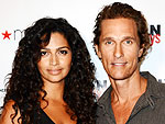 Matthew & Camila McConaughey Name Son Livingston | Camila Alves, Matthew McConaughey