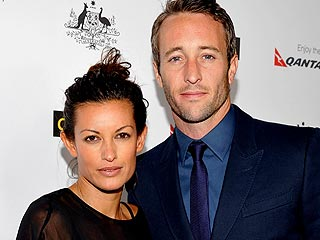 Alex O'Loughlin Names Son Lion