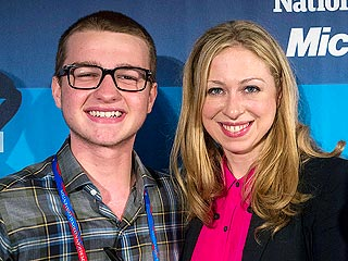 Chelsea Clinton's Voting Advice for Teen Two and a Half Men Star | Angus T. Jones, Chelsea Clinton