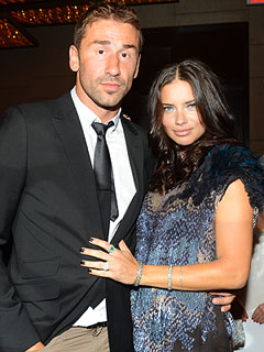 Adriana Lima and Marko Jaric Photos News and Videos