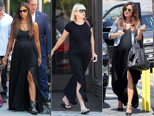 1 Trend, 3 Ways: Black Side Slit Maxi Dresses – Moms & Babies ...