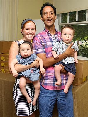 Danny Pudi with beautiful, Wife Bridget Showalter Pudi