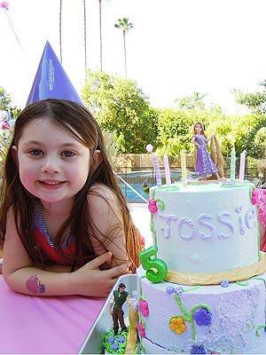 Samantha Harris Daughter Josselyn Turns 5 Moms