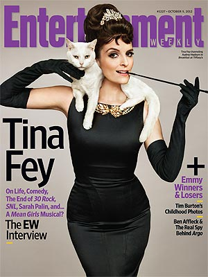 Entertainment Weekly Cover: Tina Fey and Cat