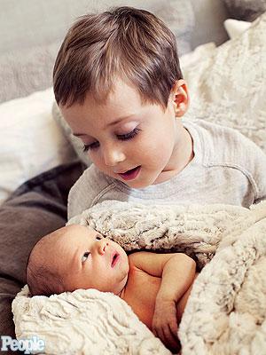 Meet Leigh Allyn Baker S Newborn Son Moms Amp Babies