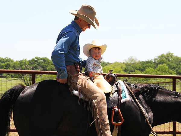 Ty Murray: I've Got a Little Helper on the Ranch - Kase!
