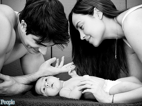 Brandon Routh and Courtney Ford Introduce Son Leo James