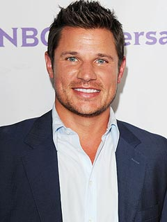Nick Lachey Loves Sniffing His Son