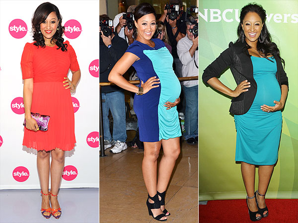 So Chic! Tamera Mowry-Housley's Red Carpet Maternity Style