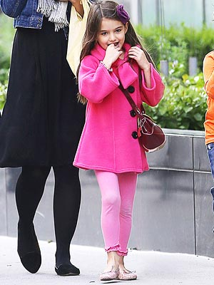 Look for Less: Suri Cruise's Pink Chic