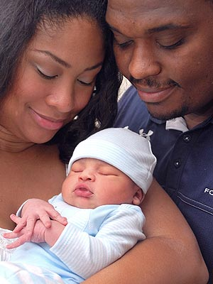 Anansa Sims Welcomes Son David Bernard III