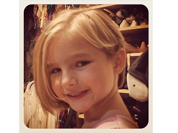 Jennie Garth Shows Off Daughter Fionas New Haircut People