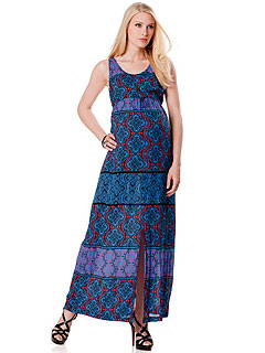 A Pea in the Pod Eighty Sixty Maxi Slit Dress