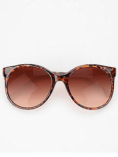Urban Outfitters Viera Round Sunglasses