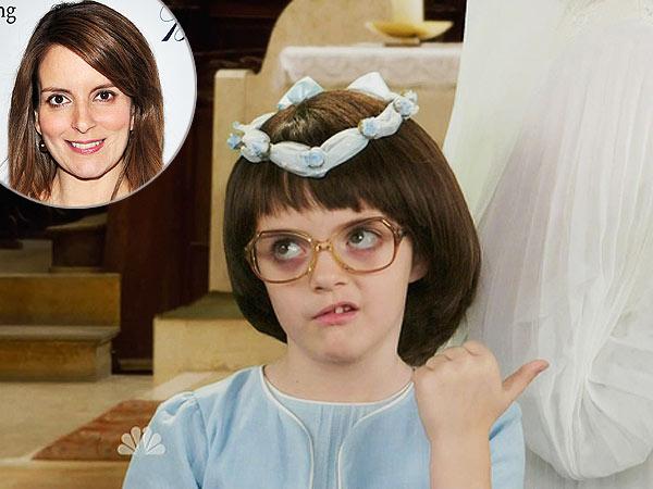 Tina Fey's Daughter Alice Plays a Young Liz Lemon