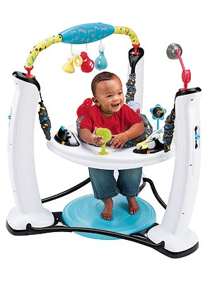 Giveaway: An Evenflo ExerSaucer Jump & Learn Play Station (a $150 Value!)