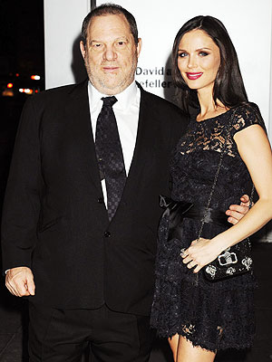 Harvey Weinstein Georgina Chapman Pregnant