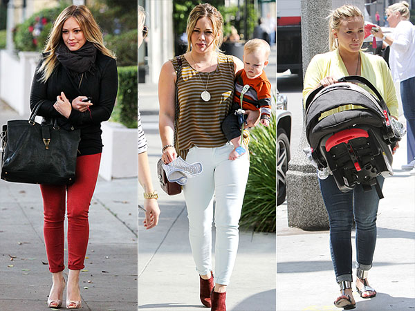 Hilary Duff's Sexy New Mommy Jeans