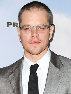 Matt Damon Christmas Holiday Family Plans 