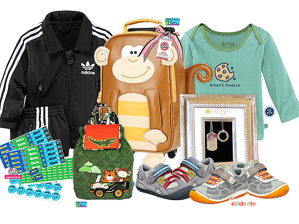 Giveaway: A 1st Birthday Boy Gift Bag from Jewels & Pinstripes (a $435 Value!)